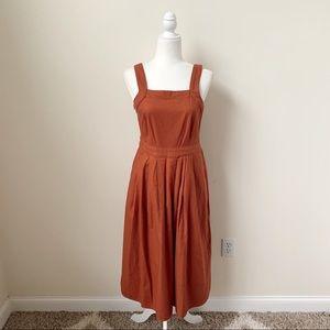 Universal Thread Terracotta Rust Midi Dress